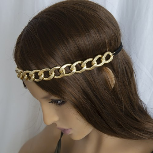 Women's Hair Chain Retro Personality Chain Design Exaggerated Hair Hair Accessories Fashion