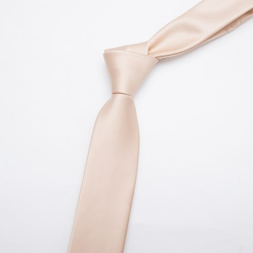 Men's Tie Fashion Business Accessory Solid Color Casual