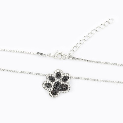 Women's Fashion Necklace Rhinestone Inlaid Lovely Stylish Necklace Accessory Basic