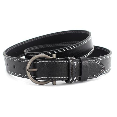 Women's Jeans Belt Pin Buckle Solid Color Belt Accessory Women's Belts Metal Decoration One-loop Geometric Casual Fashion