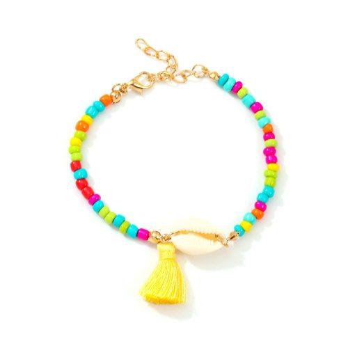 Women's Beaded Bracelet Casual Color Block Bracelet Accessory Fashion