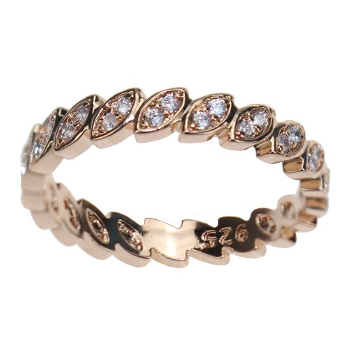 Women's Fashion Ring Simple Geometry Elegant Fine Rhinestone Accessory Sexy Geometric