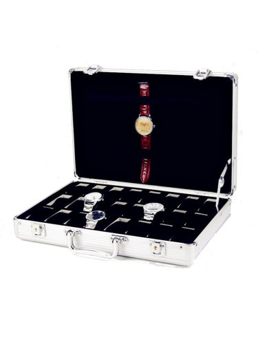 Watch Storage Case 32 Slots Packaging Box Top Class Watch Display Others Casual Patchwork