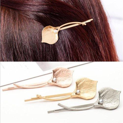 1Pc Women's Hair Clip Creative Exquisite Hair Hair Accessories Wipe clean Fine
