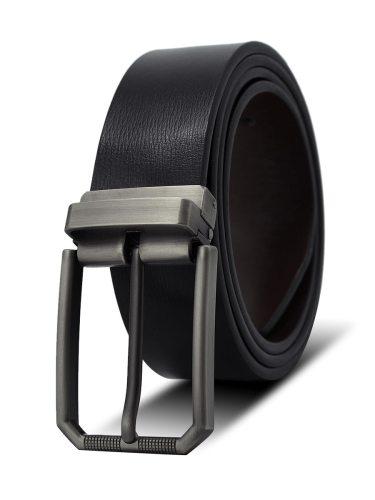 Men's Belt Pin Buckle Solid Color Casual Accessory Men's Belts Fashion