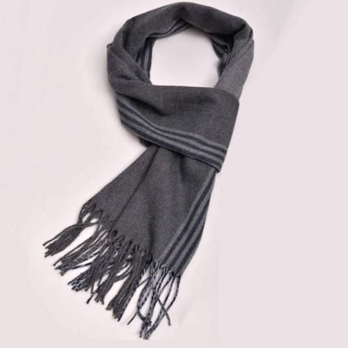 Men's Scarf Decoration Plain Style Casual Tassel Scarves Vintage Geometric Wipe clean Accessory Winter Scarves