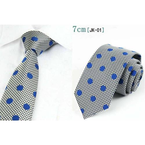 Men's One Piece Tie Business All Match Fashion Accessory Feathers Geometric Celebrity