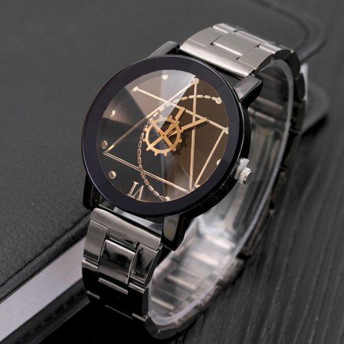Women's Fashion Watch Geometric Pattern Watch Wipe clean Description:Female:strap full length: 240 mmStrap width: 15 mmDial diameter: 32 mmDial 10 52