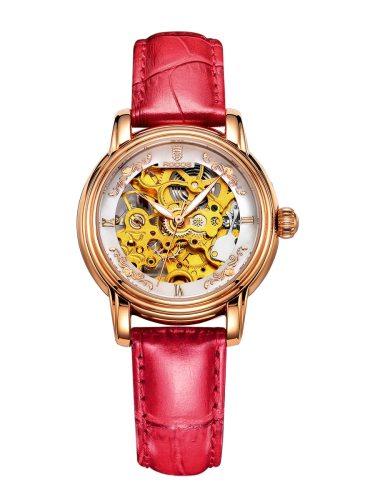 ROCOS Women's Mechanical Watch Exquisite Hollow Out Design Waterproof Ladylike Waterproof:50MDial Diameter:34mmDial Thickness:12mm Other Women's