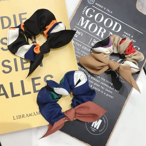 Women's One Piece Hair Elastic Bow Design Hair Hair Accessories Bandage Polka Dot Vintage Fine