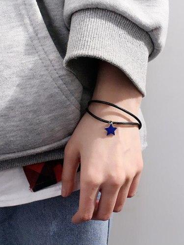 Women's Fashion Bracelet Pentagram Stylish Delicate Accessory Fine