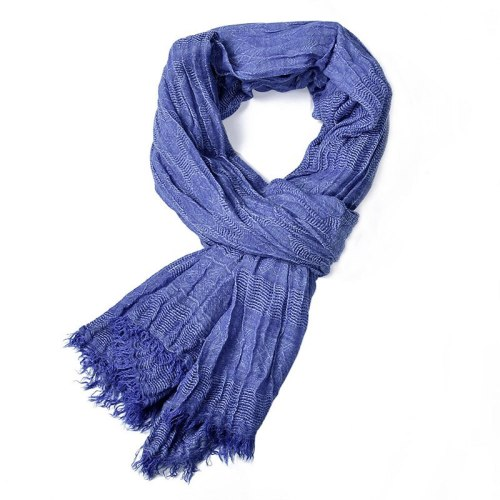 Men's Scarf Yarn Dyed Comfortable Winter Scarves Tassel size:190*90cm Accessory Casual Solid Color Hand wash