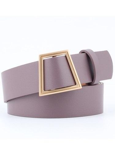 Women's Waist Belt All Match Simple Design Vintage Chic Belt Women's Belts Accessories Fashion One-loop