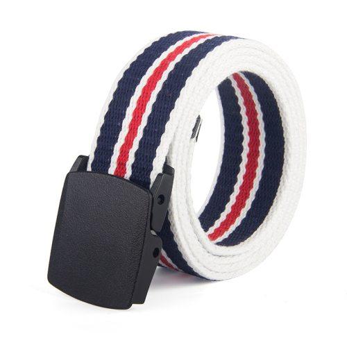 Men's Belt Striped Color Block Casual Width CM : 38 CMLength CM : 110 CM Basic Solid Color Contrast Color Accessory Men's Belts