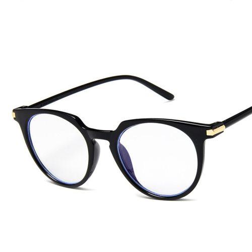 Men's Simple Retro All-Match Eyeglasses Ethnic Fruit Fashion Accessory Round Circle