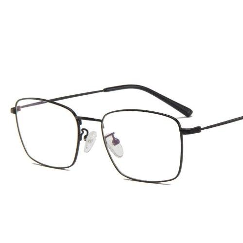 SAN VITALE Men's Metal Frame Vintage Style Trendy Geometric Accessory Wayfarer Fashion Top Fashion Eyeglasses Metal Decoration