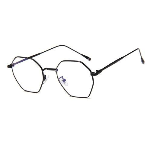 Men's Irregular Shape Lightweight Preppy Eyeglasses Fashion