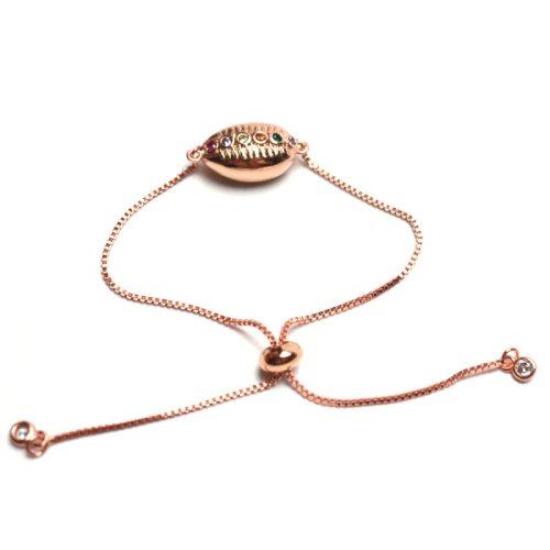 Men's Fashion Bracelet Colorful Stone Inlay Trendy Chain Fashion Bracelets Basic