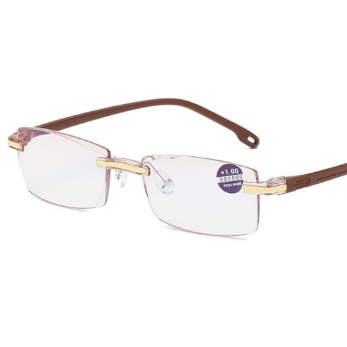 Men's Eyeglassesless Light Weight Plain Reading Fashion Round Circle Frame Accessory Sweet Solid Color Rivet