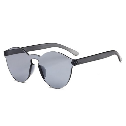 Men's Rimless Trendy Glasses Oversized Accessory Sunglasses Sports Polarized or not: yesSpecification: regularLens material :ACUV resistance level