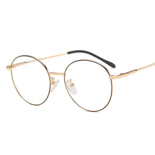 Men's Round Shaped Multi Color Vintage Simple Eyeglasses Fashion Casual Accessory