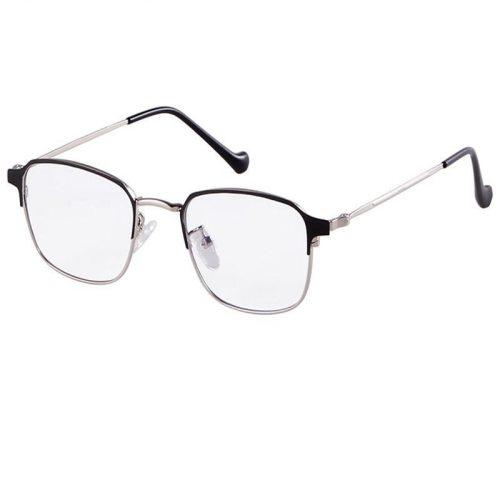 Men's Eyeglasses All Match Square Metal Decoration Punk Geometric Wayfarer Accessory Frame Fashion