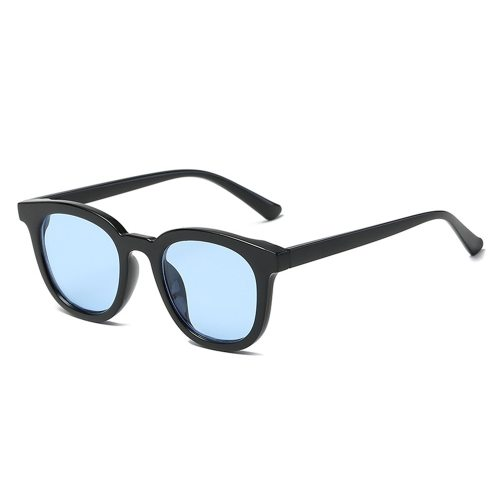 Unisex Sunglasses Lightweight UV Protection Square Frame Fashion Sports Accessory Reading Glasses Solid Color Cat Eye Rivet