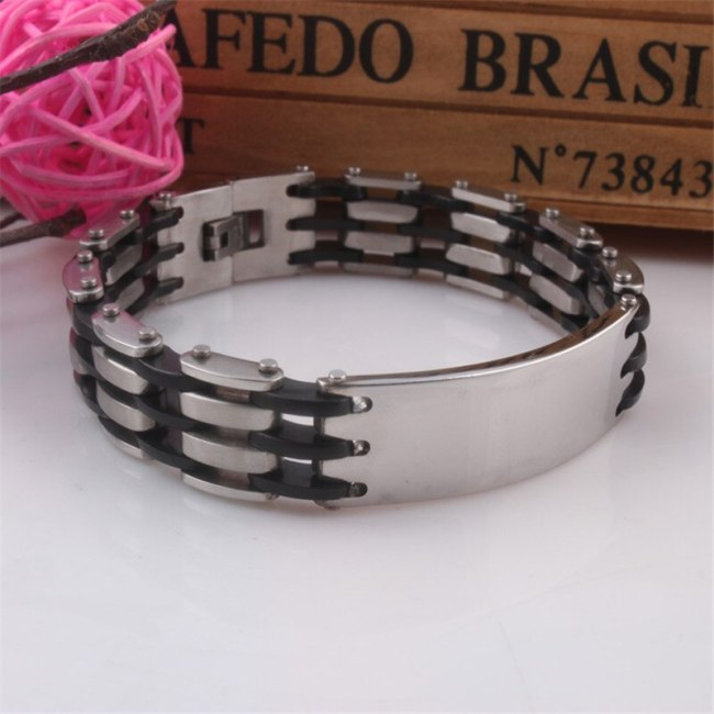 Men's Bracelet Creative Simple Fashion Infinite Charming Jewelry Metal Decoration Vintage Solid Color Fine Fashion Bracelets Health function: anti -
