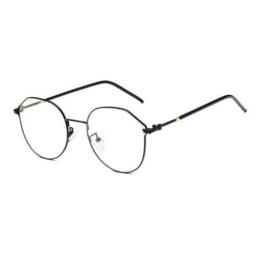 Men's Light Weight Metal Frame Plain Glasses Eyeglasses Sports