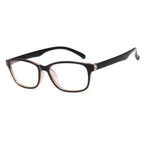 Men's Rectangle Shape Vintage Lightweight Preppy Eyeglasses Fashion