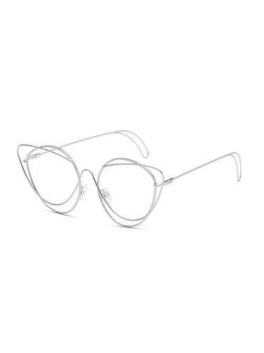 Men's Solid Color Simple All Match Trend Glasses Wayfarer Eyeglasses Fashion Accessory