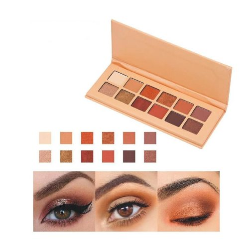 HERES B2UTY Eye Shadow Palette Matter 12 Colors Eye Shadow