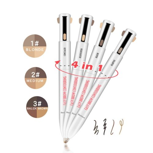 Eyebrow Lasting Sweat Resistant Rotation 4 Colors Eyebrow filling the eyebrows Shimmer Sun Protection