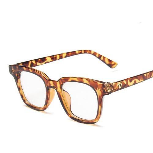 Men's Classic Light Weight Black Animal Eyeglasses Accessory Fashion Casual