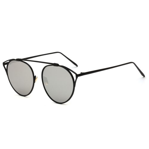 SAN VITALE Men's Sunglasses Hollow Out Metal Frame Polarized Rimless Fashion Rivet Polarized or not: yesSpecification: regularLens material :ACUV :PC