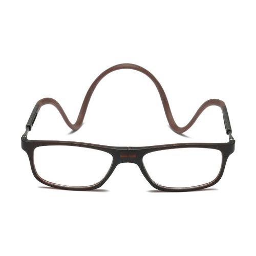 Unisex Foldable Simple Stylish Reading Accessory Fashion Rivet Solid Color Eyeglasses Rimless
