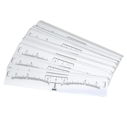 100 Pieces Eyebrow Ruler Sticker Eyebrow Grooming Shaper Permanent Eyebrow Measurement Disposable Eyebrow Tattoo Tattoo Suppliers this sticker is