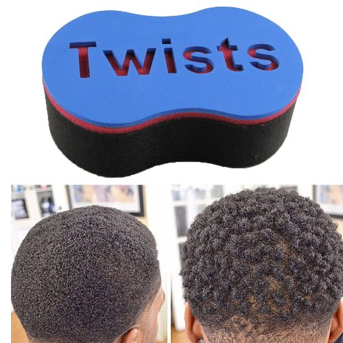 Magic Twist Hair Sponge Barber Hair Brush Sponge Twist Afro Curl Coil Wave Hair Care Styling Shaping you will have a head of perfectly formed twists