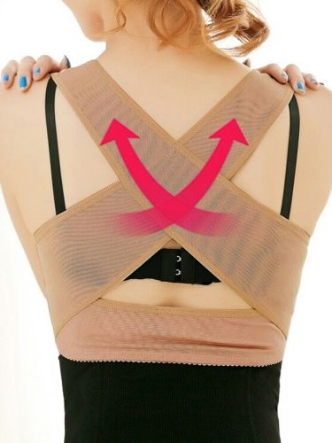 Chest Orthoses Large Size Humpback Rehabilitation Back Posture Correcting Shaping L:Lower chest circumference is about 80-85CM36B\C\D、38A\B Waist