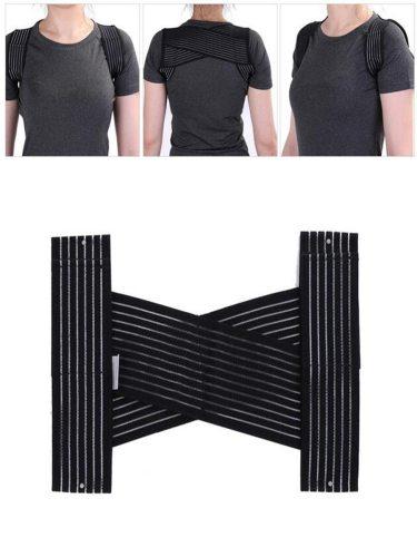 Back Bandage Humpback Correcting Belt Adjustable Fabric Shaping Health Specification: uniform Protective
