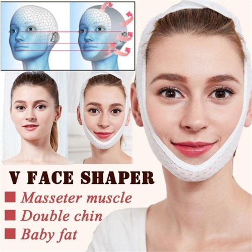 Slim V-Line Lift Up Mask Cheek Chin Neck Slimming Thin Belt Strap Beauty Face Tightening