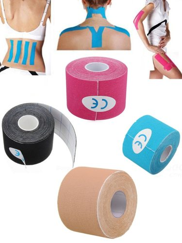 Sports Bandage Waterproof Multi Use Tape Health Shaping Arms Specification: 5cm*5m