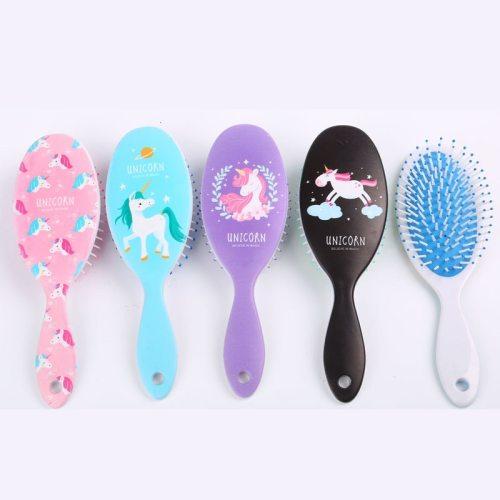 Plastic Cartoon Comb Curly Hair Massage Air Cushion Comb Beauty Hair Straighten 16-20 cm