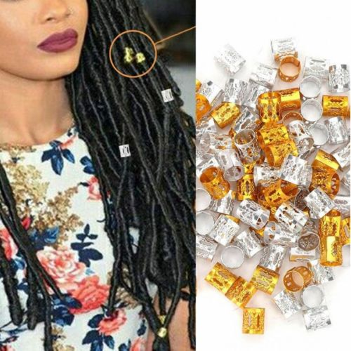 100 Pieces Dreadlocks Hair Clasp Fashion Professional Hairstyling Hold that would help to show your personality