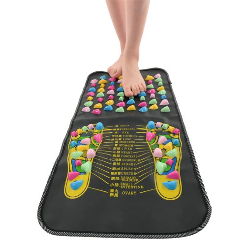 Foldable Foot Acupoint Massage Carpet Anti-Slip Massage Mat Health Care Tool Beauty Product Name: Foot Massage BlanketWeight: 1kgSize: 70*35cmPacking