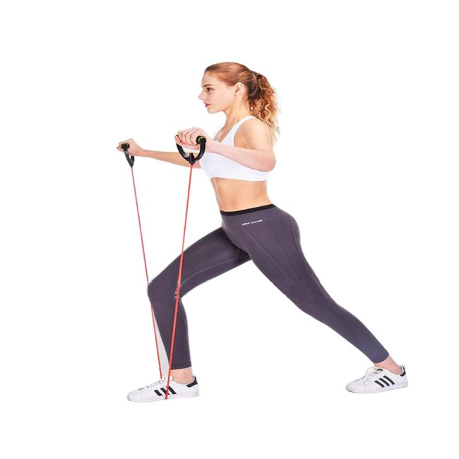 Fitness Resistance Rope Exercise Muscle Fitness Rubber Elastic Band Exercising Tightening Arms