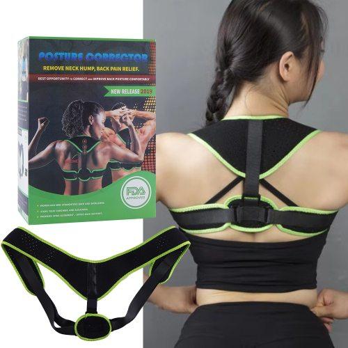 Posture Corrector Shoulder Back Pain Reliever Spine Straightener Adjustable Humpback Orthopedic Brace Back Shaping