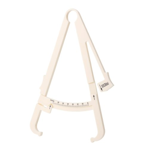 1PC 70mm Fat Caliper Personal Fitness Measurement Tool Skin Fold Tester Health you can use it anywhereMade of high quality ABS Body