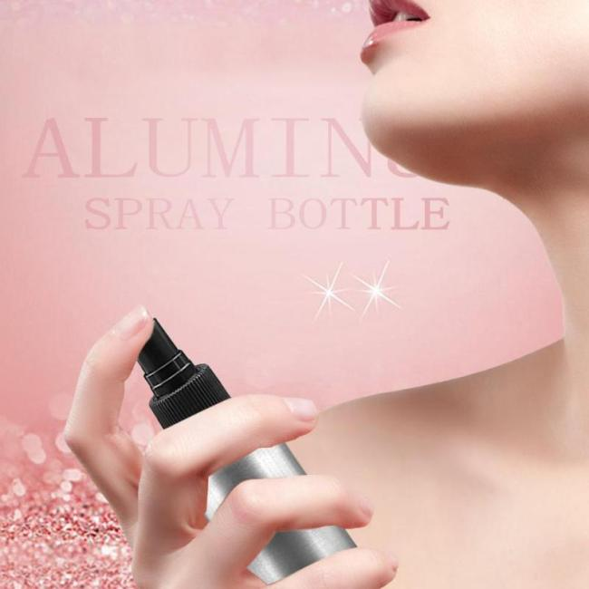 30/50/100ml Aluminium Perfume Spray Refillable Atomizer Bottle Empty Travel Pump High Capacity Cosmetic Specification:[Product Name]: Aluminum Spray