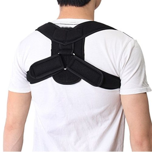 Men's Back Support Belt Back Correction Portable Orthopedic Lumbar Shoulder Correct Shaping